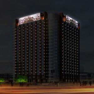 大楼亮化工程